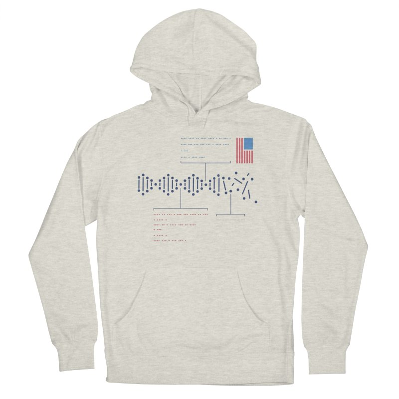 Encrypted Repair Women's French Terry Pullover Hoody by [HAS HEART]