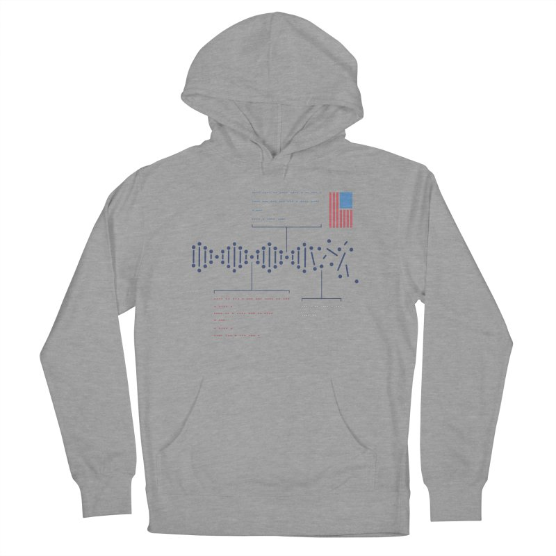 Encrypted Repair Men's Pullover Hoody by [HAS HEART]