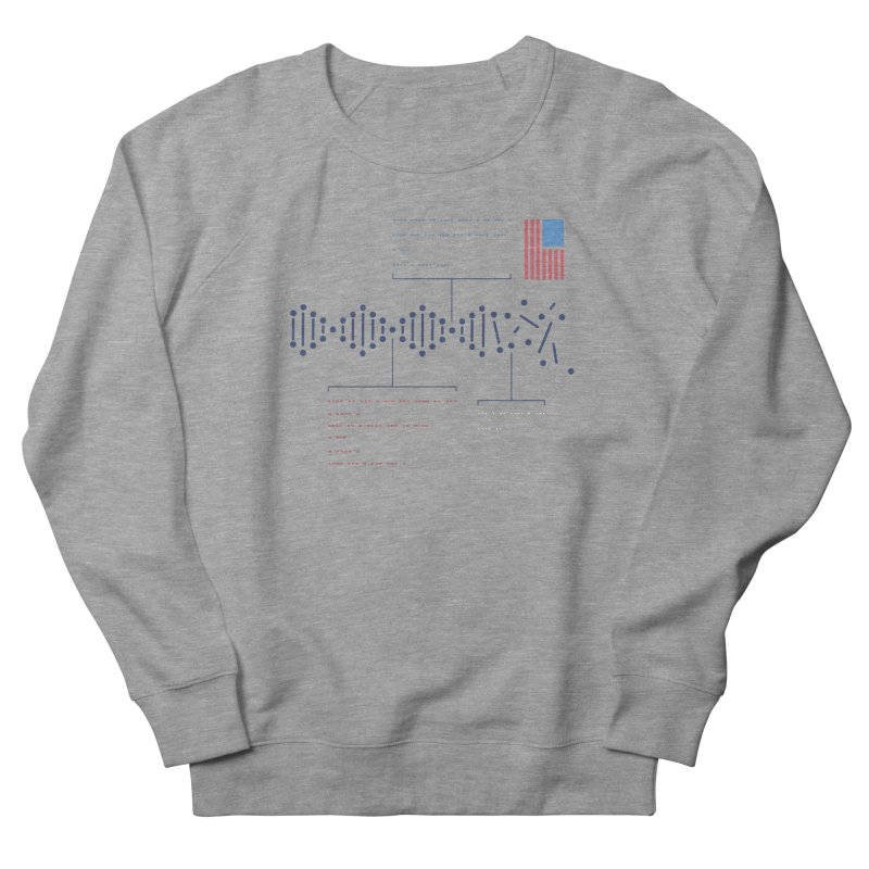 Encrypted Repair Men's French Terry Sweatshirt by [HAS HEART]
