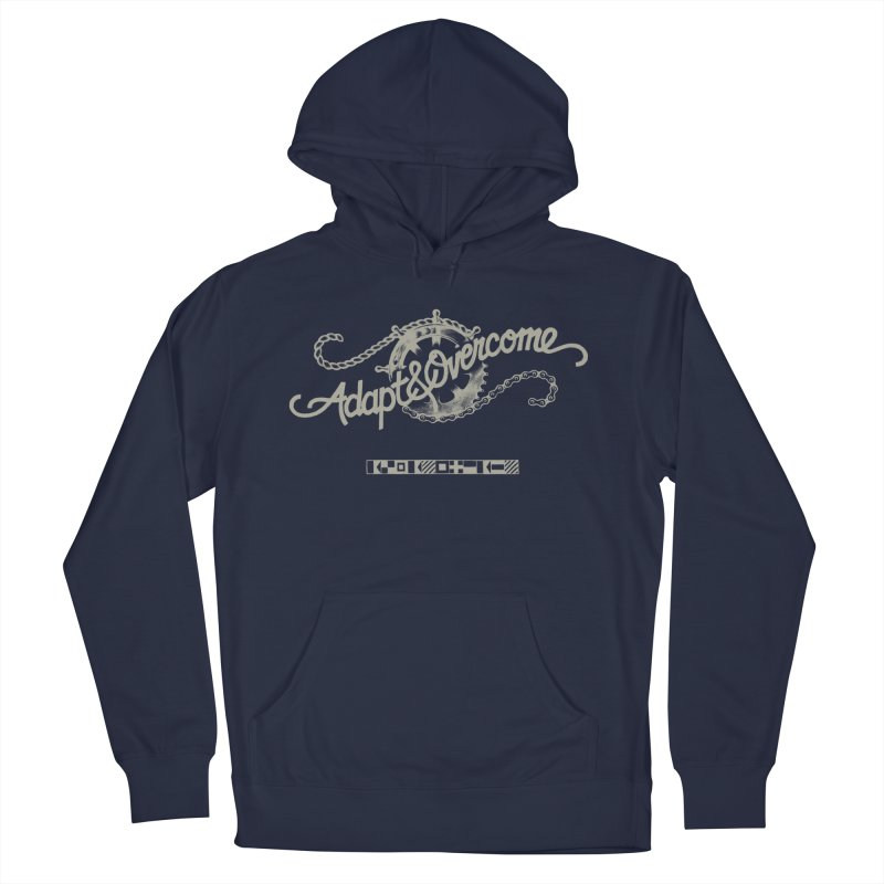 Adapt & Overcome Men's Pullover Hoody by [HAS HEART]
