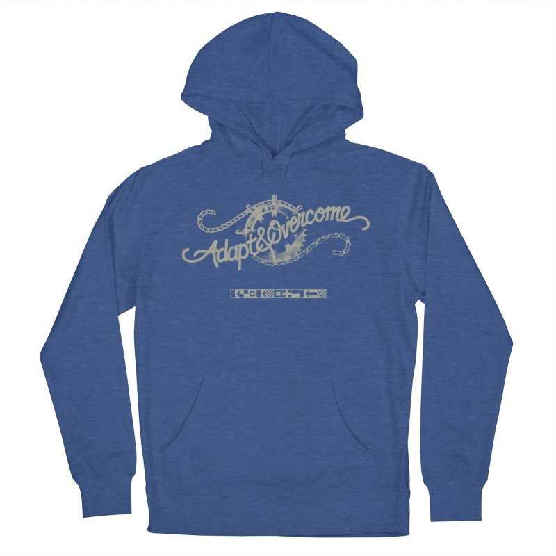 Adapt & Overcome Women's French Terry Pullover Hoody by [HAS HEART]