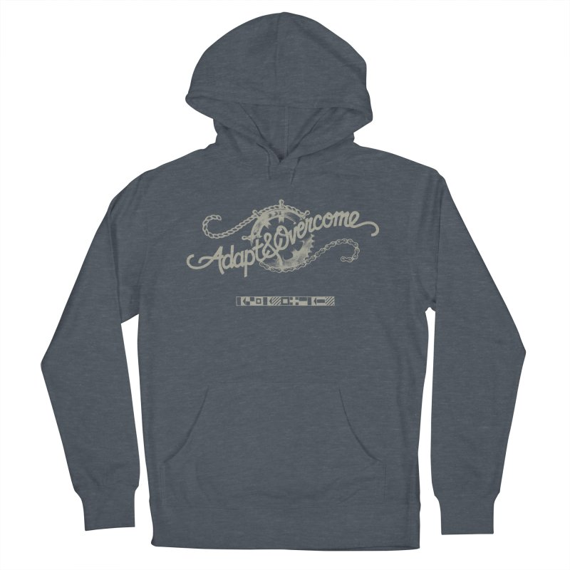 Adapt & Overcome Men's French Terry Pullover Hoody by [HAS HEART]