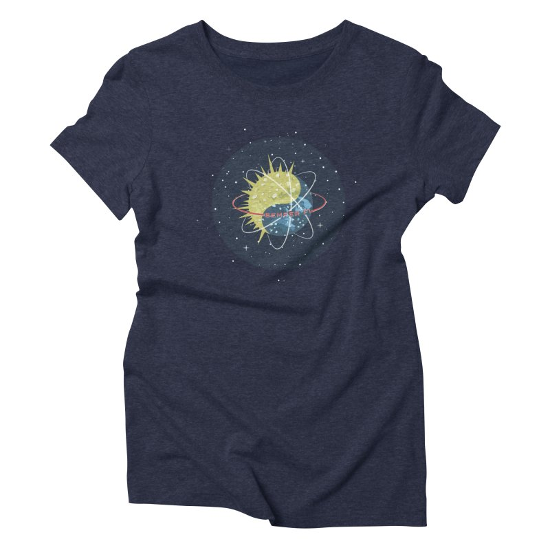 Know The Otherside Women's Triblend T-shirt by [HAS HEART]