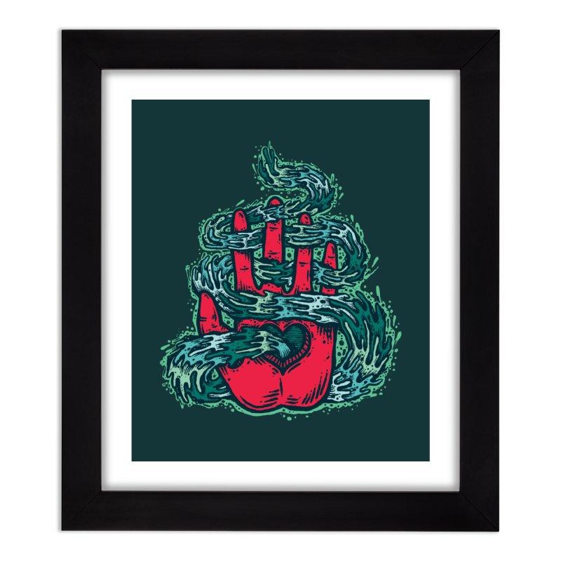 Guiding Ethos (WA) Home Framed Fine Art Print by [HAS HEART]