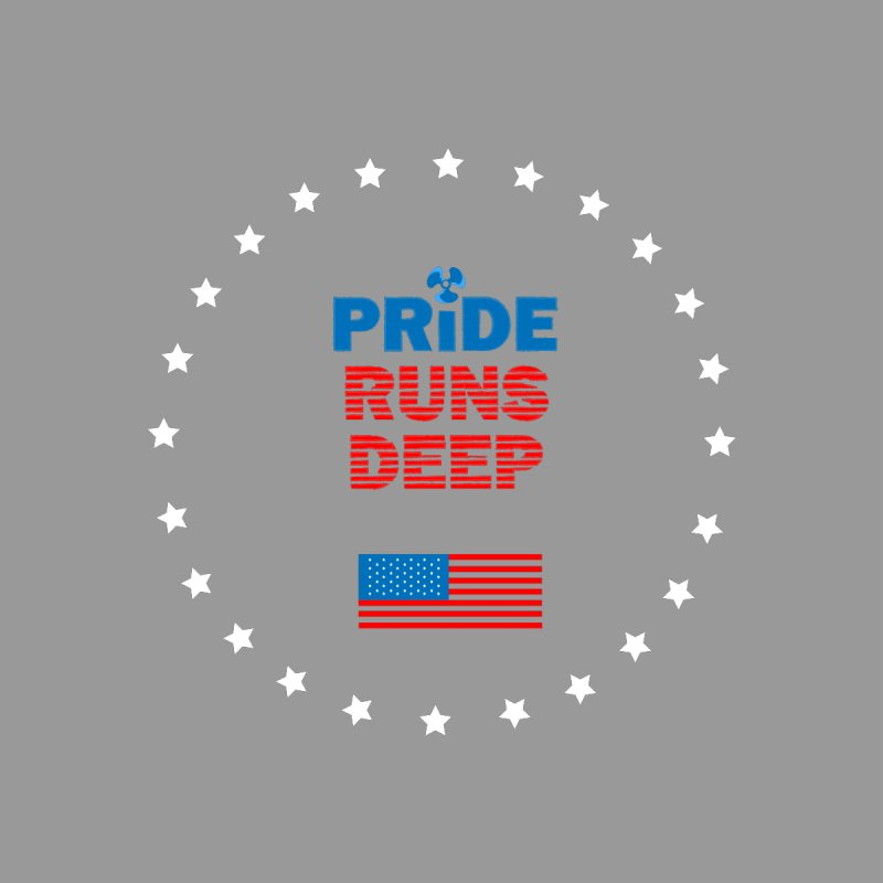Pride Runs Deep Home Fine Art Print by [HAS HEART]
