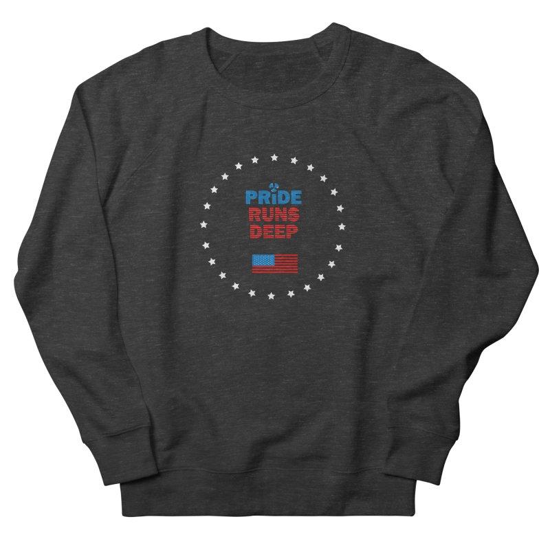 Pride Runs Deep Women's French Terry Sweatshirt by [HAS HEART]
