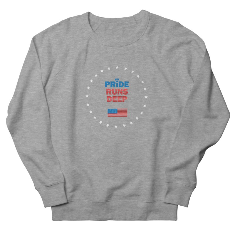 Pride Runs Deep Women's Sweatshirt by [HAS HEART]