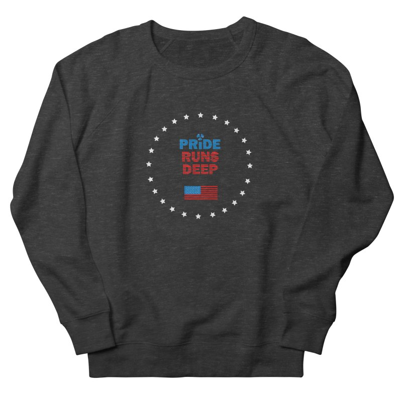 Pride Runs Deep Men's French Terry Sweatshirt by [HAS HEART]
