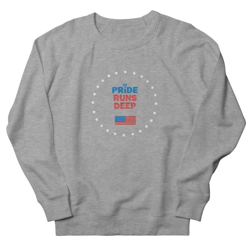 Pride Runs Deep Men's Sweatshirt by [HAS HEART]