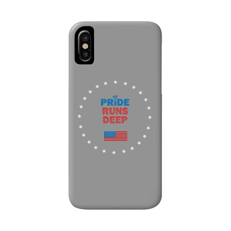 Pride Runs Deep Accessories Phone Case by [HAS HEART]