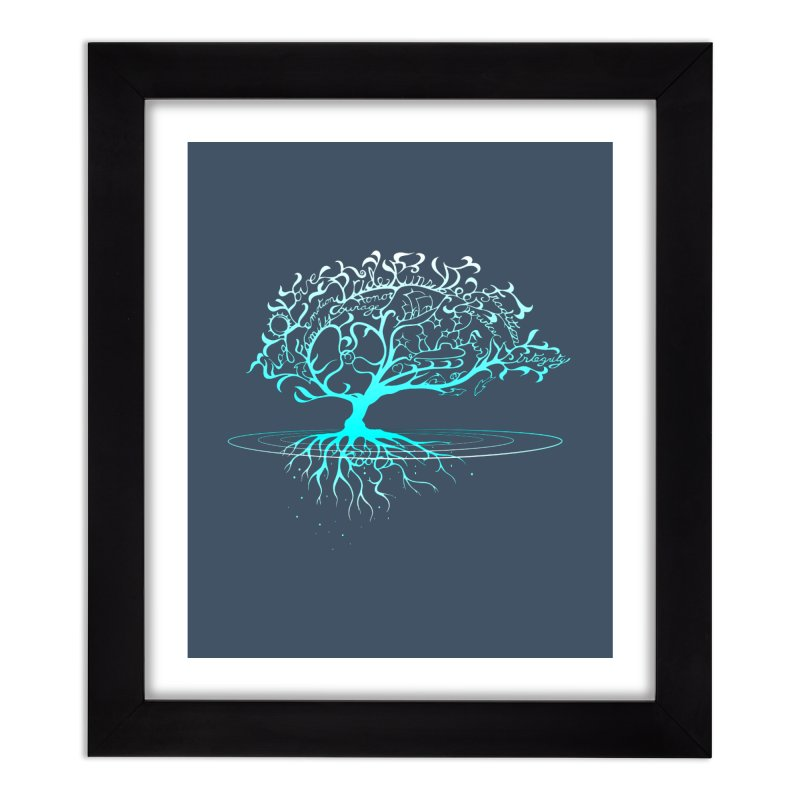Pride Runs Deep Roots Home Framed Fine Art Print by [HAS HEART]