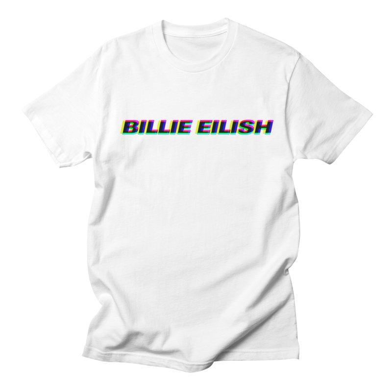6ed55c18 Billie Eilish Pop Art Logo Men's T-Shirt by Hassett Productions Merch