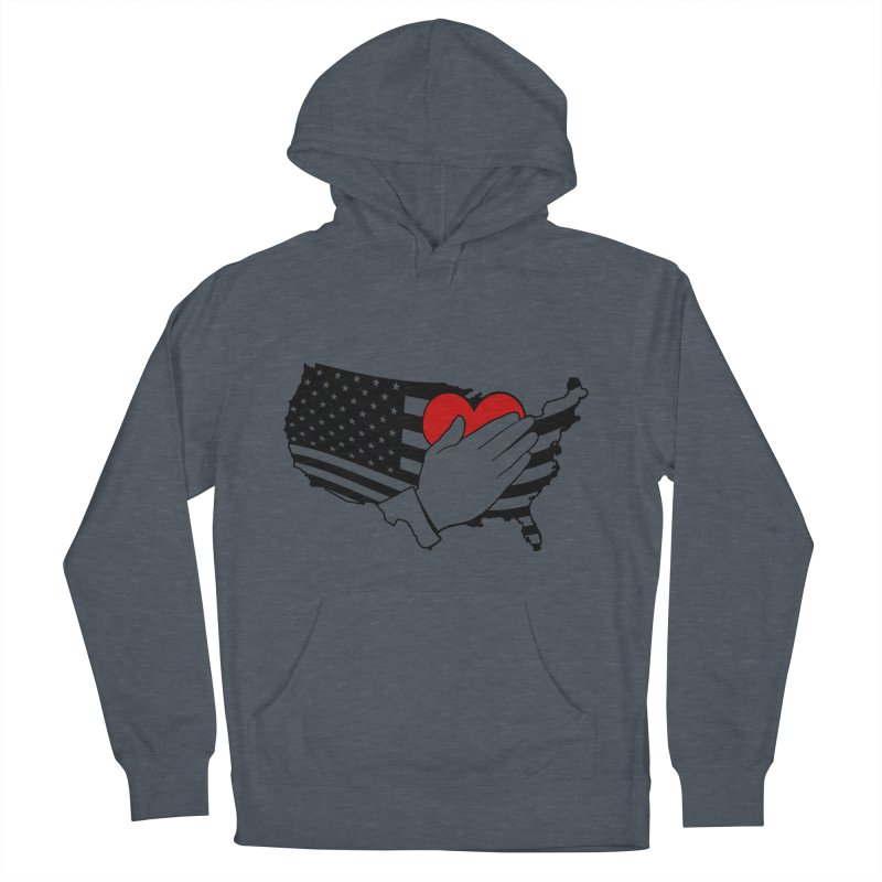 Pledge of Allegiance Men's Pullover Hoody by Hassified