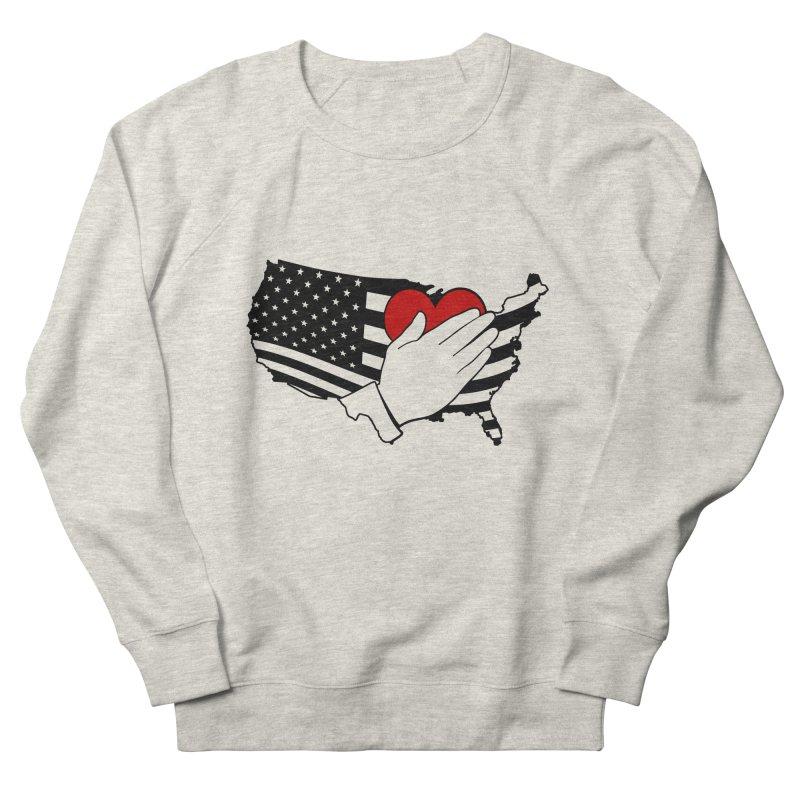 Pledge of Allegiance Men's Sweatshirt by Hassified
