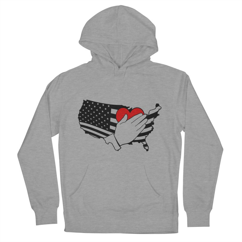 Pledge of Allegiance Women's French Terry Pullover Hoody by Hassified