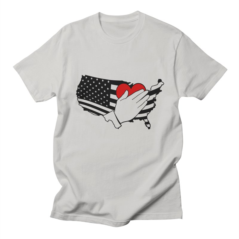 Pledge of Allegiance Men's Regular T-Shirt by Hassified