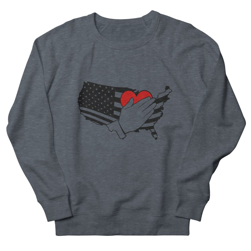 Pledge of Allegiance Men's French Terry Sweatshirt by Hassified