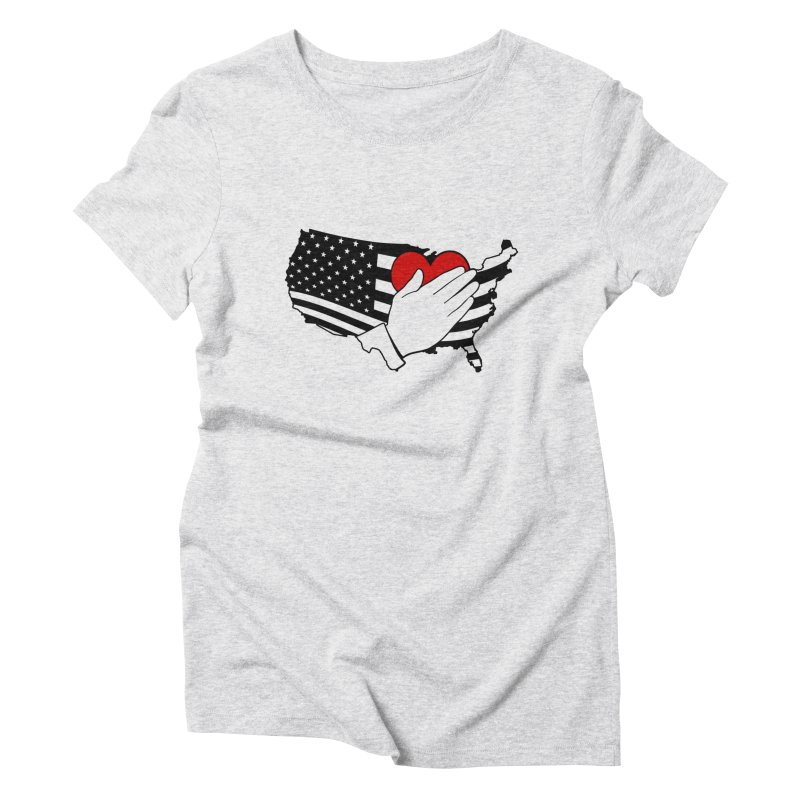 Pledge of Allegiance Women's Triblend T-Shirt by Hassified