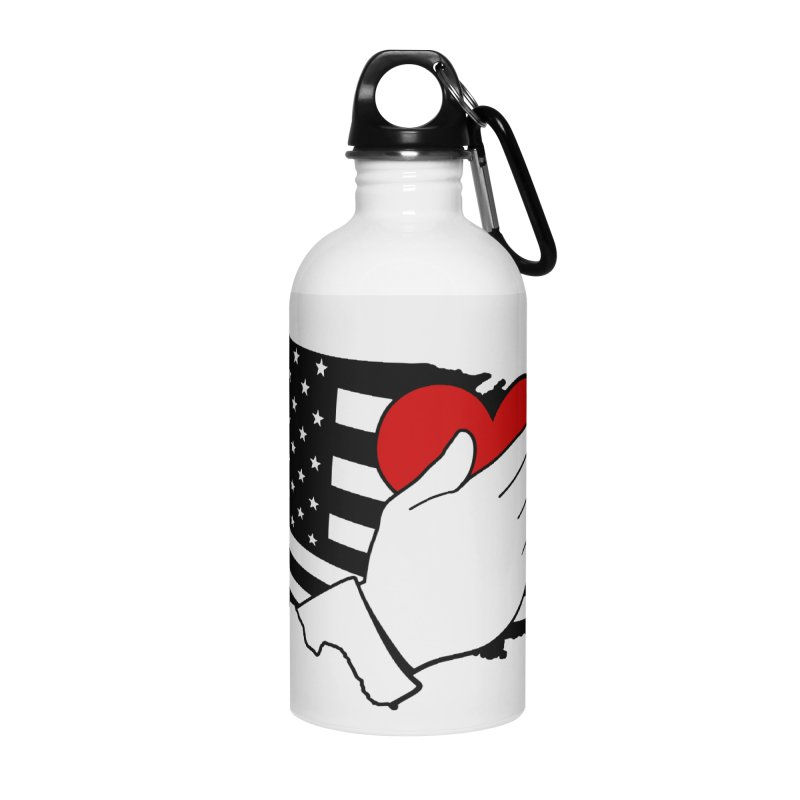 Pledge of Allegiance Accessories Water Bottle by Hassified