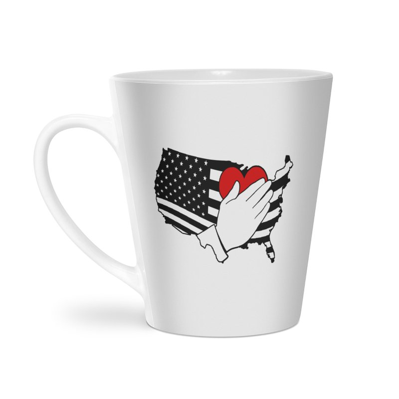 Pledge of Allegiance Accessories Latte Mug by Hassified
