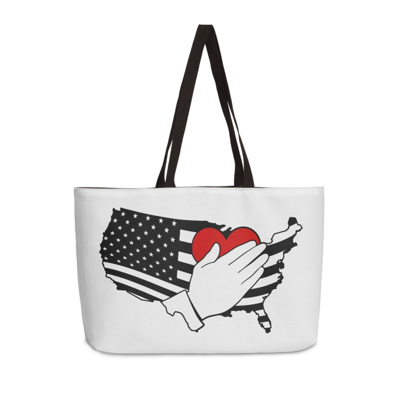 Pledge of Allegiance Accessories Weekender Bag Bag by Hassified