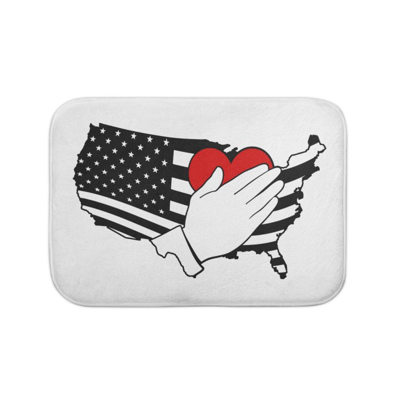 Pledge of Allegiance Home Bath Mat by Hassified