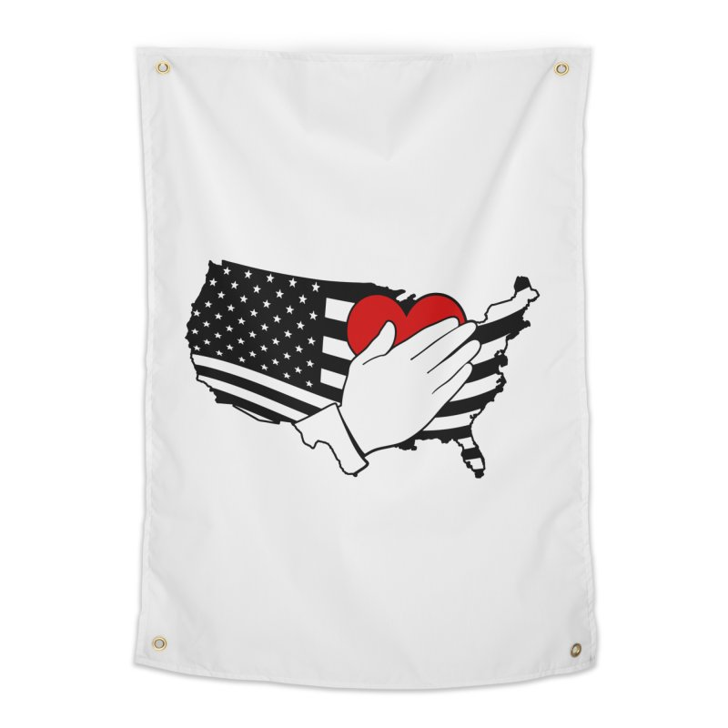 Pledge of Allegiance Home Tapestry by Hassified
