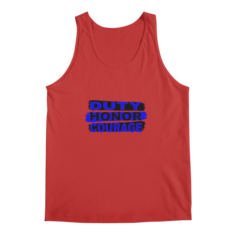 Duty Honor Courage Men's Regular Tank by Hassified
