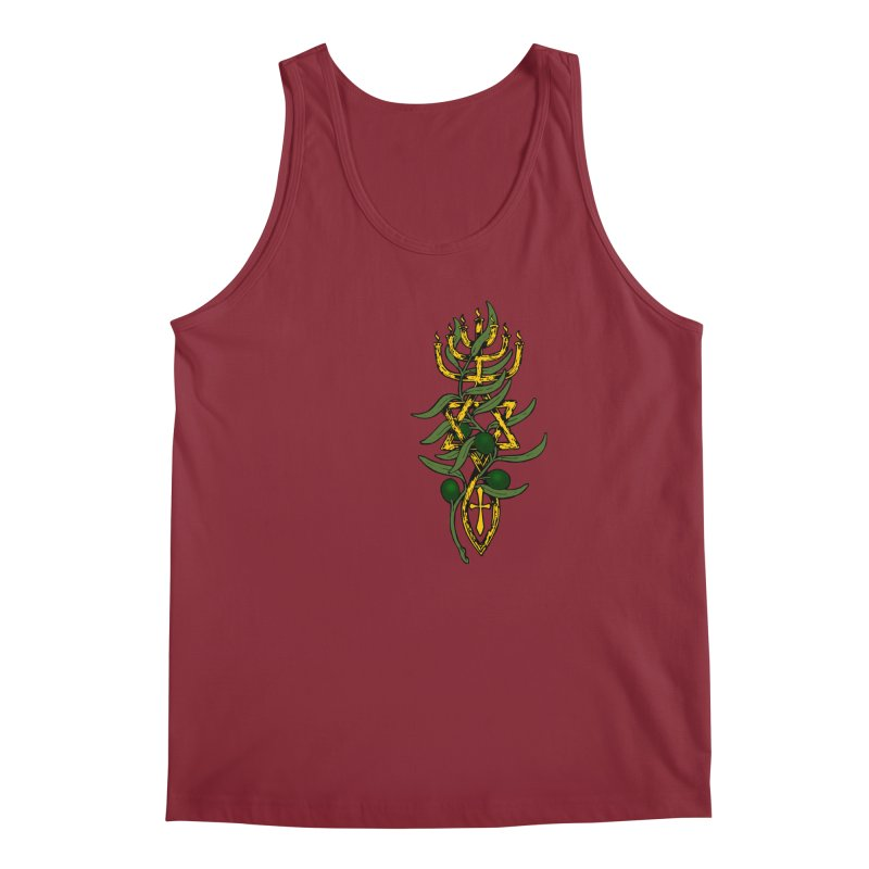 Oil of the Spirit Men's Regular Tank by Hassified