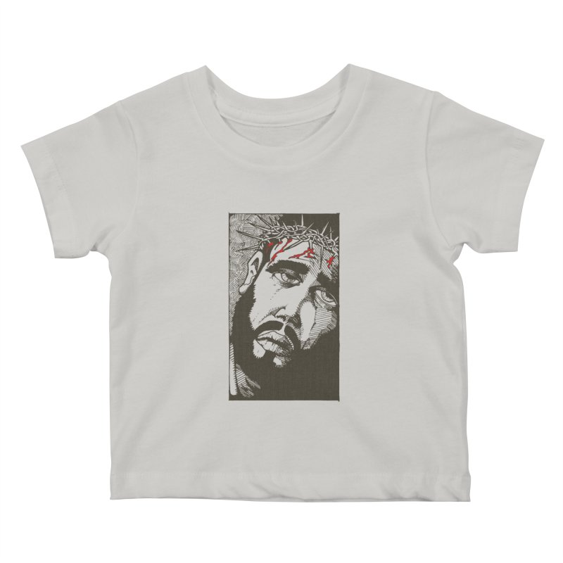 Jesus Kids Baby T-Shirt by Hassified