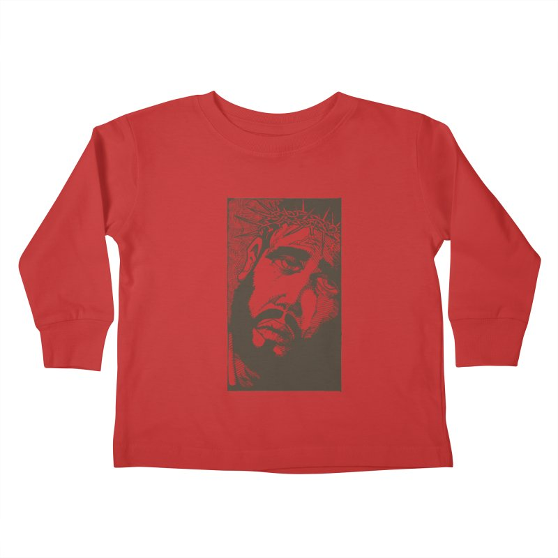Jesus Kids Toddler Longsleeve T-Shirt by Hassified