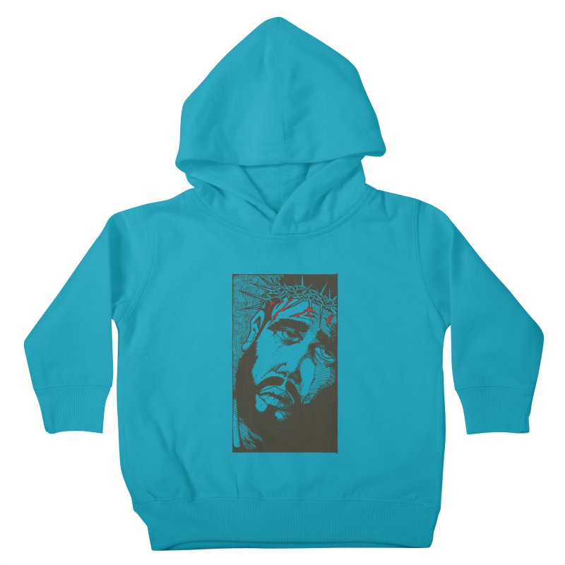 Jesus Kids Toddler Pullover Hoody by Hassified