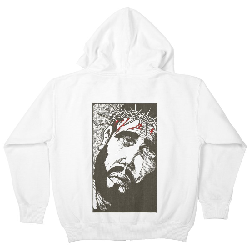 Jesus Kids Zip-Up Hoody by Hassified