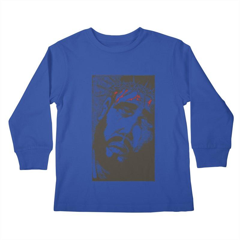 Jesus Kids Longsleeve T-Shirt by Hassified