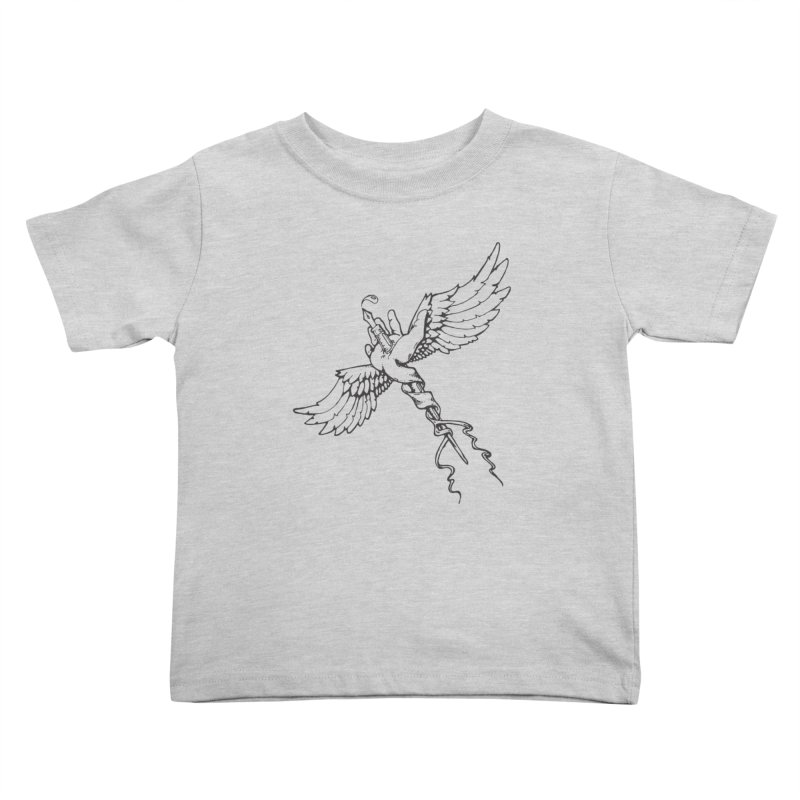 Inkspiration Kids Toddler T-Shirt by Hassified