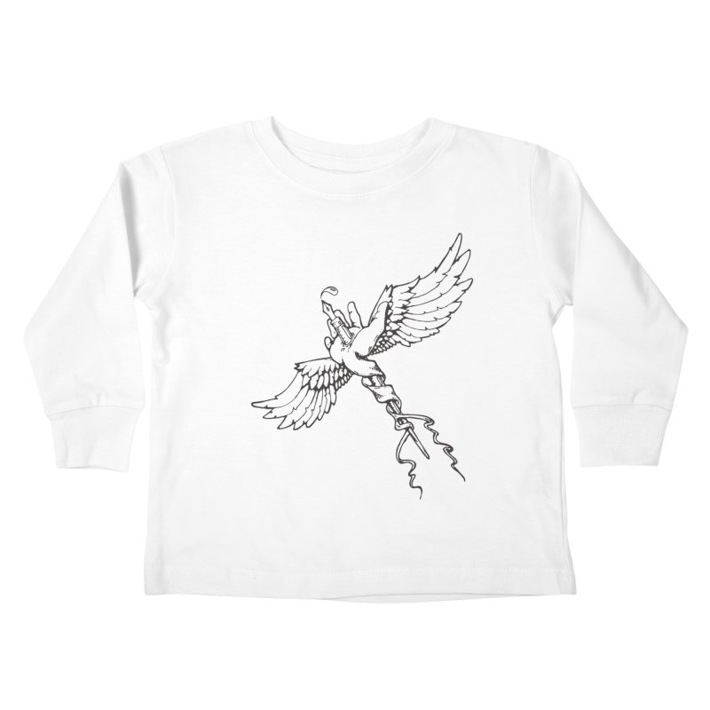 Inkspiration Kids Toddler Longsleeve T-Shirt by Hassified
