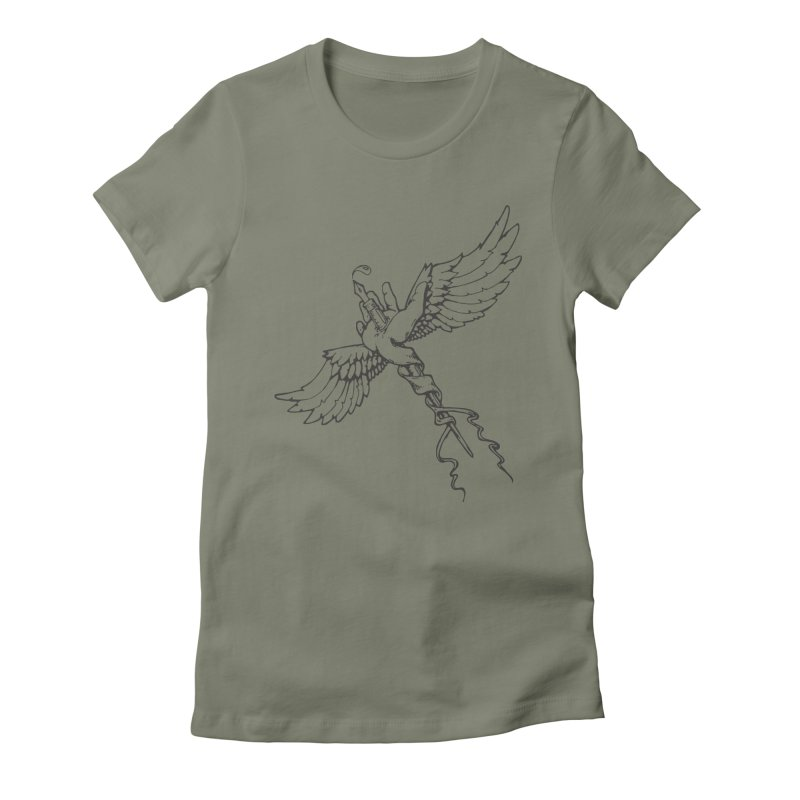 Inkspiration Women's Fitted T-Shirt by Hassified