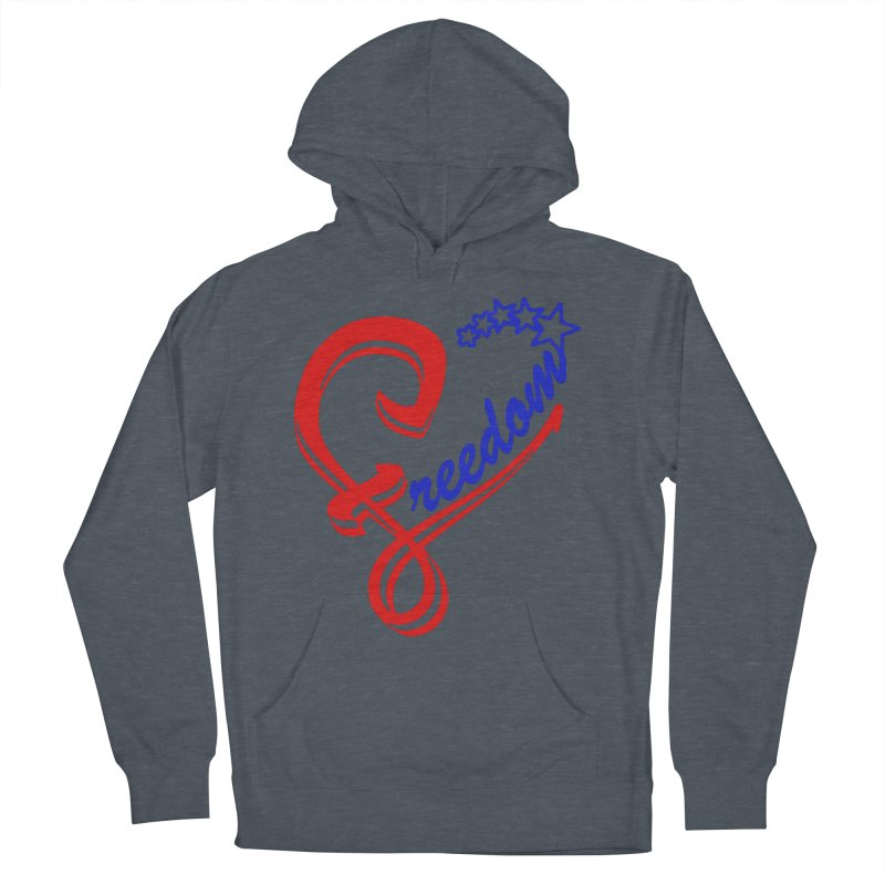 Freedom Heart Women's Pullover Hoody by Hassified