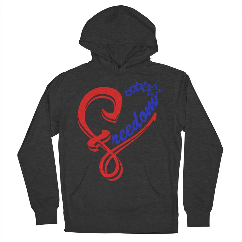 Freedom Heart Men's Pullover Hoody by Hassified