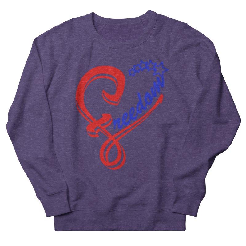Freedom Heart Men's Sweatshirt by Hassified