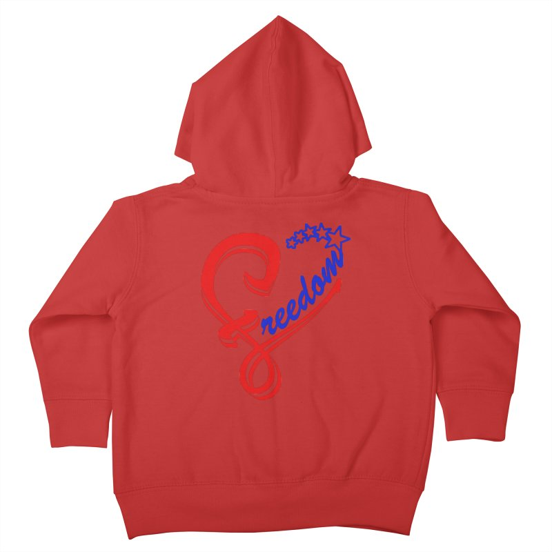 Freedom Heart Kids Toddler Zip-Up Hoody by Hassified