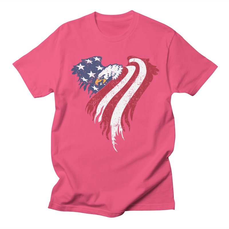 American Eagle Flag Men's Regular T-Shirt by Hassified