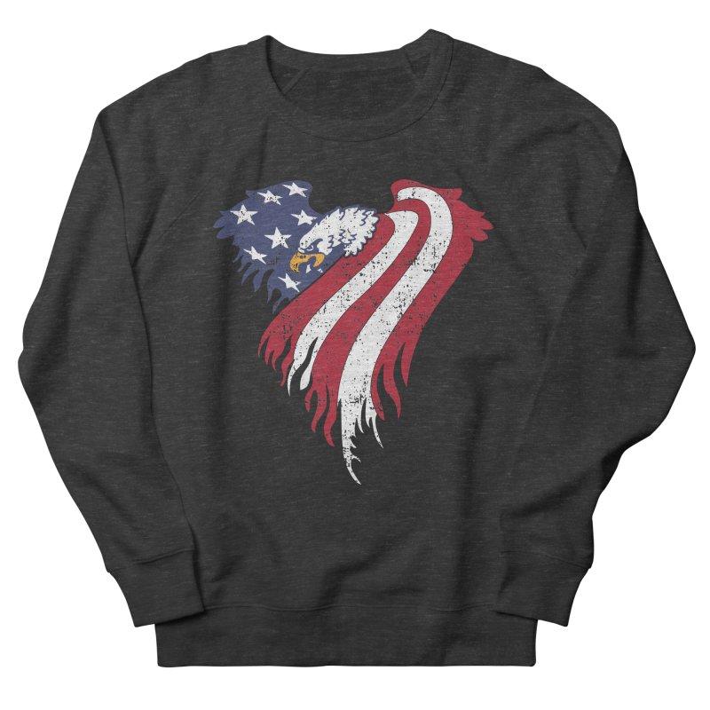 American Eagle Flag Women's Sweatshirt by Hassified