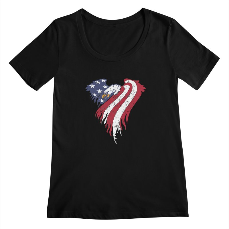 American Eagle Flag   by Hassified