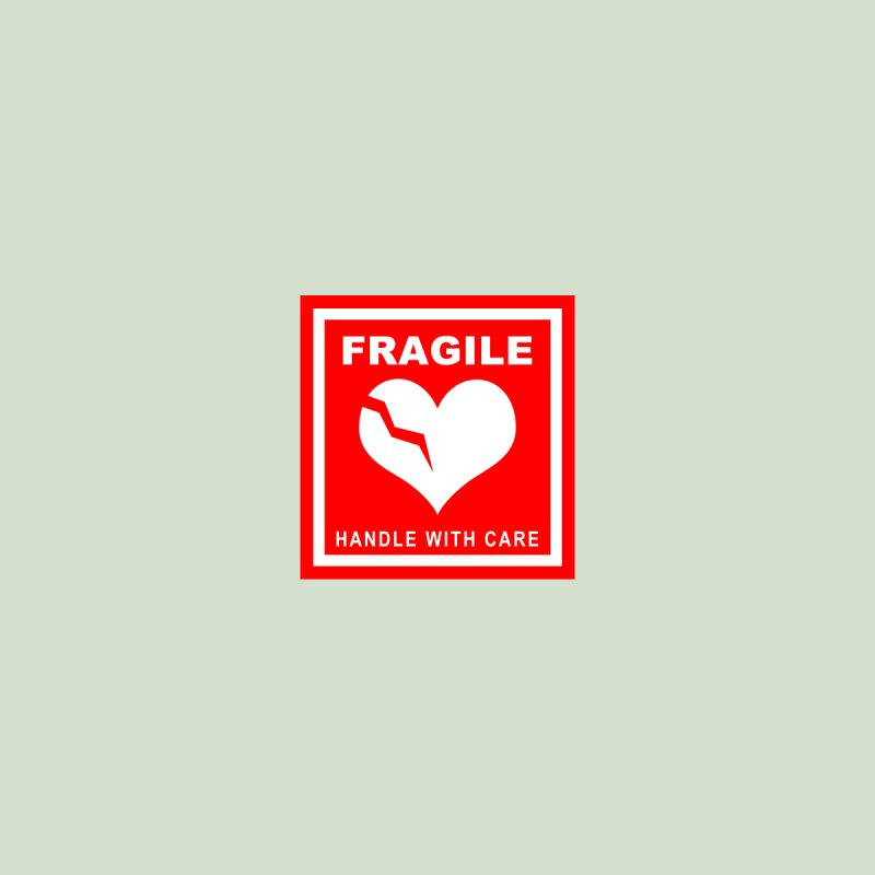 Fragile Handle With Care Men's V-Neck by Hassified