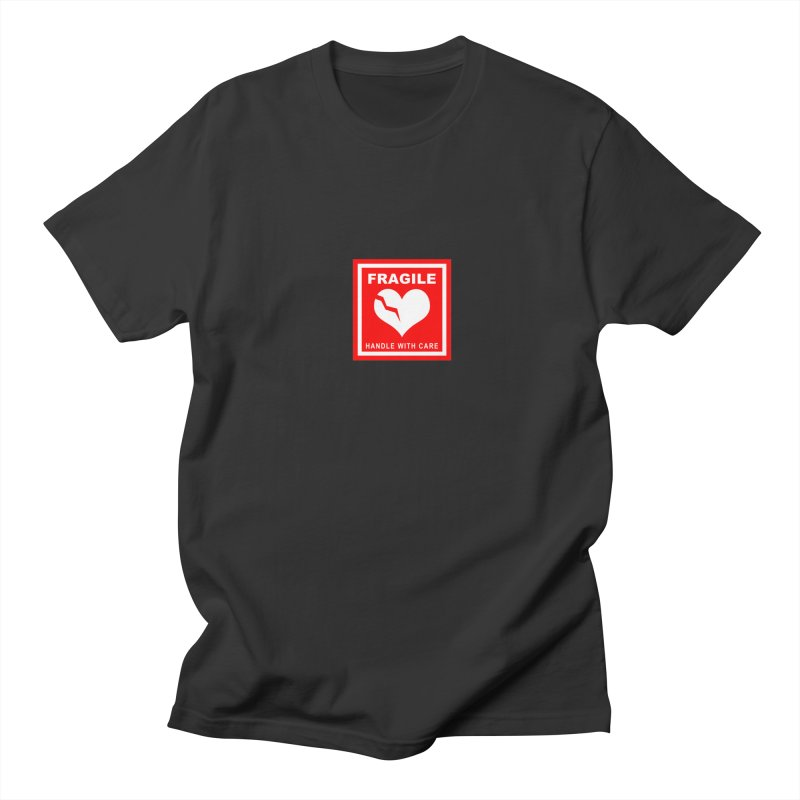 Fragile Handle With Care Men's T-Shirt by Hassified