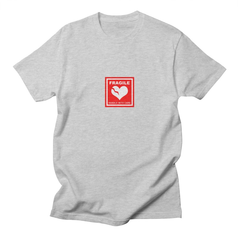 Fragile Handle With Care Men's Regular T-Shirt by Hassified