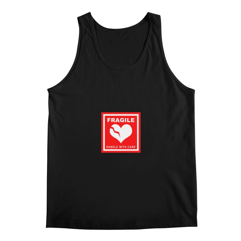 Fragile Handle With Care Men's Regular Tank by Hassified