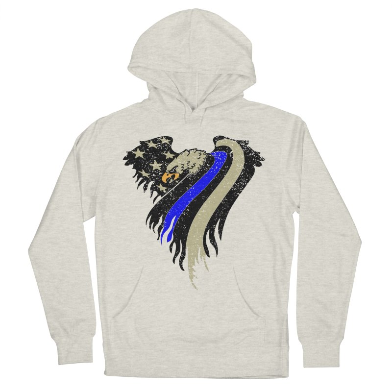 Law Enforcement Eagle Flag Women's Pullover Hoody by Hassified