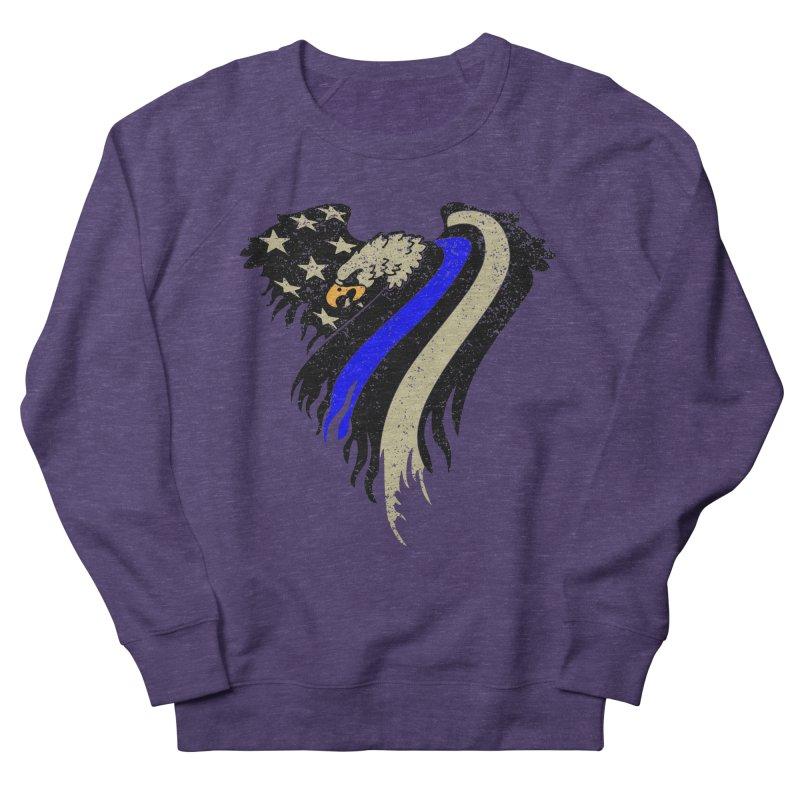 Law Enforcement Eagle Flag Women's Sweatshirt by Hassified